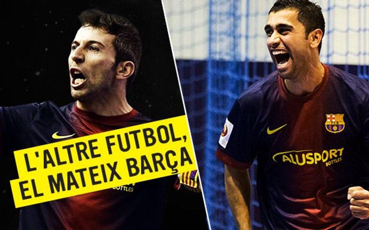 El Barça Alusport fa una crida a l'afició perquè doni suport a l'equip per tornar a ser a la final de l'LNFS