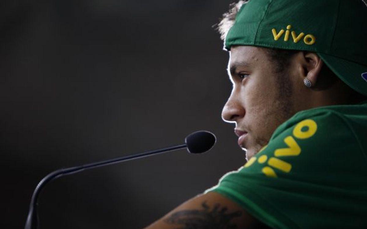 """Neymar: """"Tout va bien à Barcelone"""""""