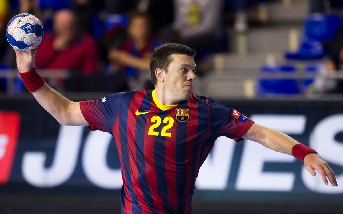 Arrenca la Copa del Rei per al Barça d'handbol