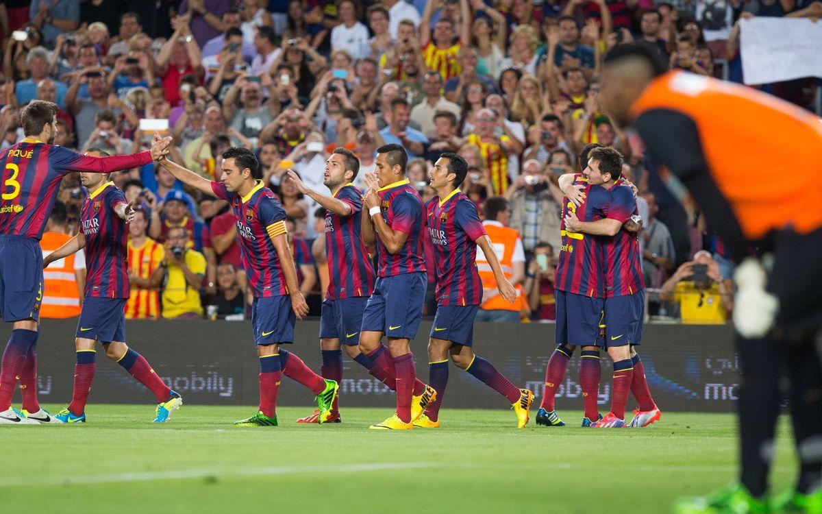 Thailand – FC Barcelona: First Asian test