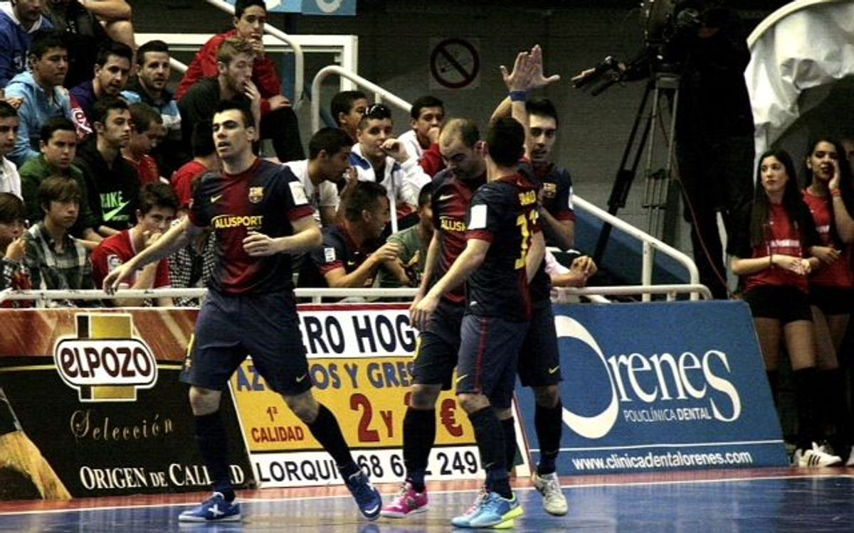 ElPozo Murcia – Barça Alusport: Battle for the top spot goes to Barça! (2-6)