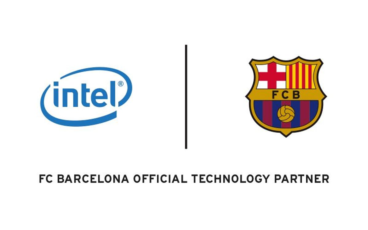 Official presentation of the global sponsorship agreement between FC Barcelona and Intel Corporation