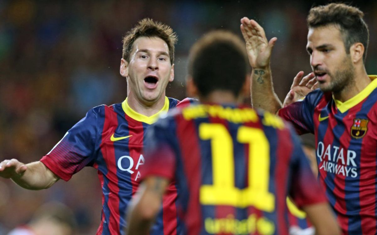 Messi, six goals in three games