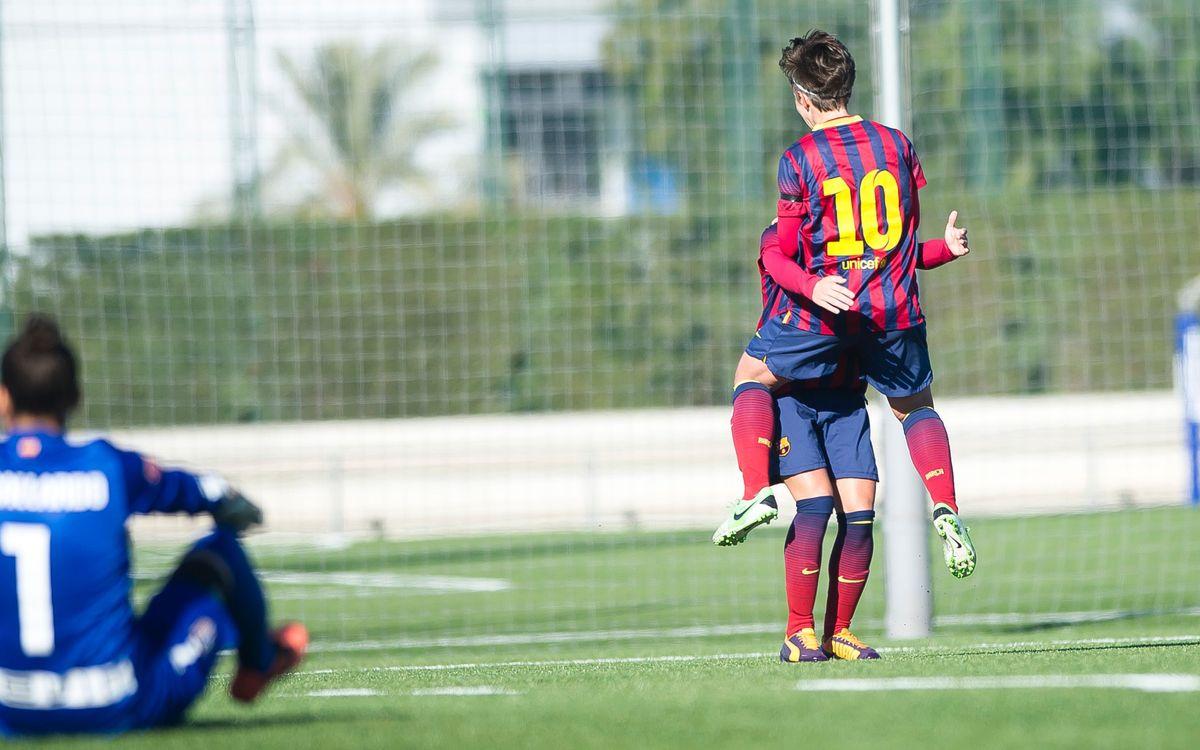 Femení A - Atlètic de Madrid: Un equip sense límits (2-1)