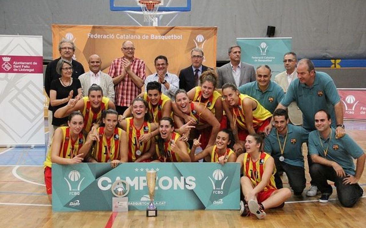 El Barça CBS, campió de la Lliga Catalana Femenina 2