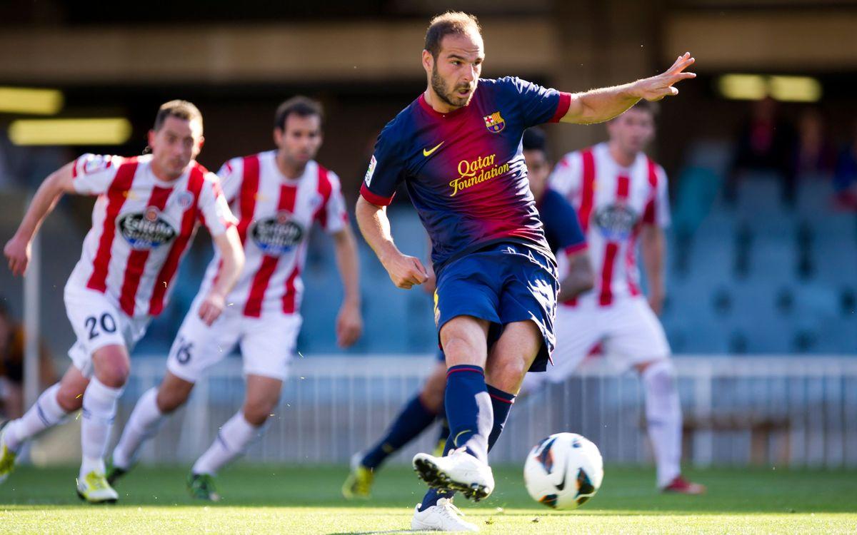 David Lombán es desvincula del Barça B