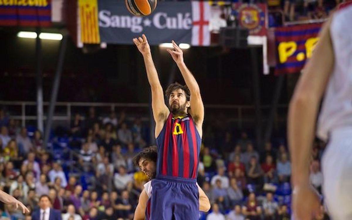 FC Barcelona – CSKA de Moscou: La flama de Navarro segueix viva (79-70)