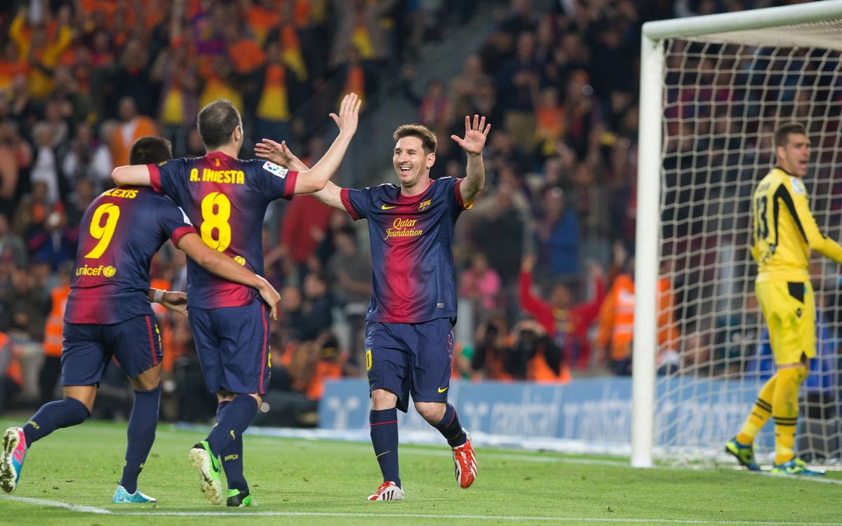 FC Barcelona: Individual stats from 2012/13 league season