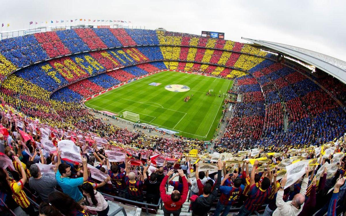 El mosaic de Tito al Camp Nou