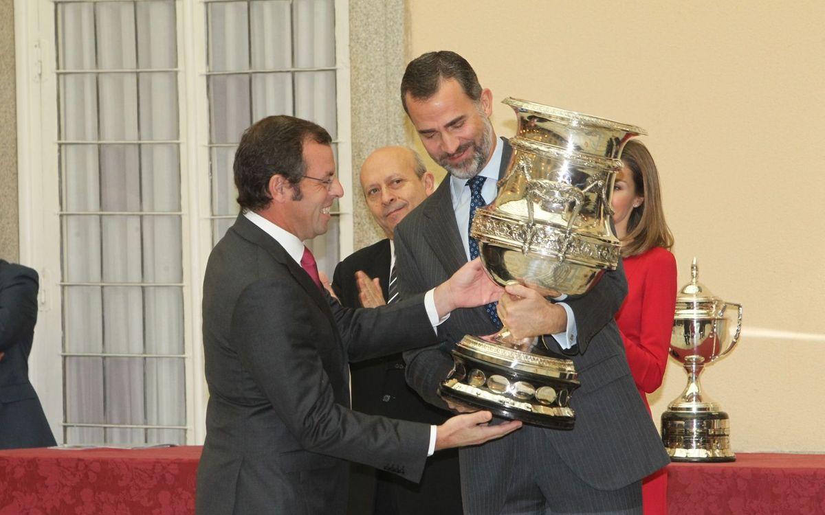 FC Barcelona win National Sport Prizes award.