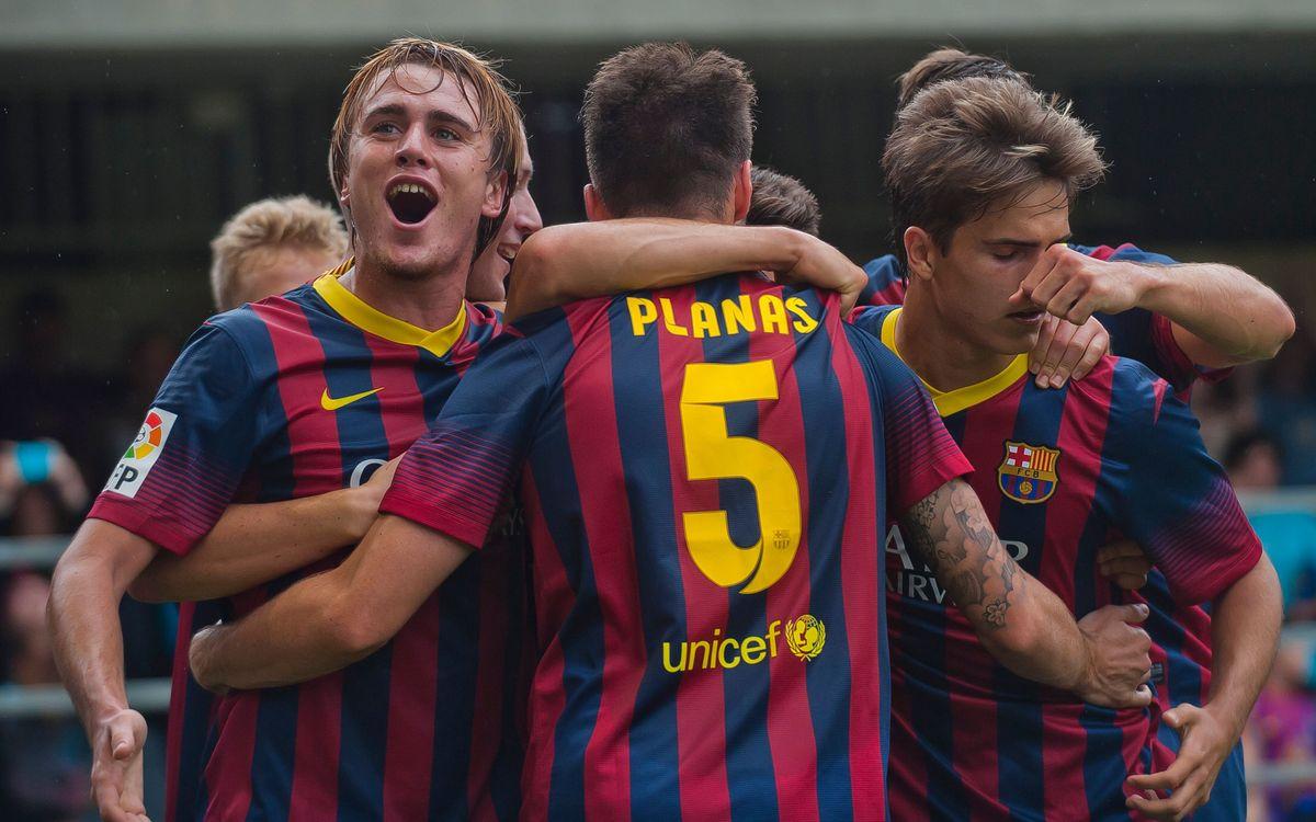 Barça B-Mallorca: A seguir la ratxa al Miniestadi