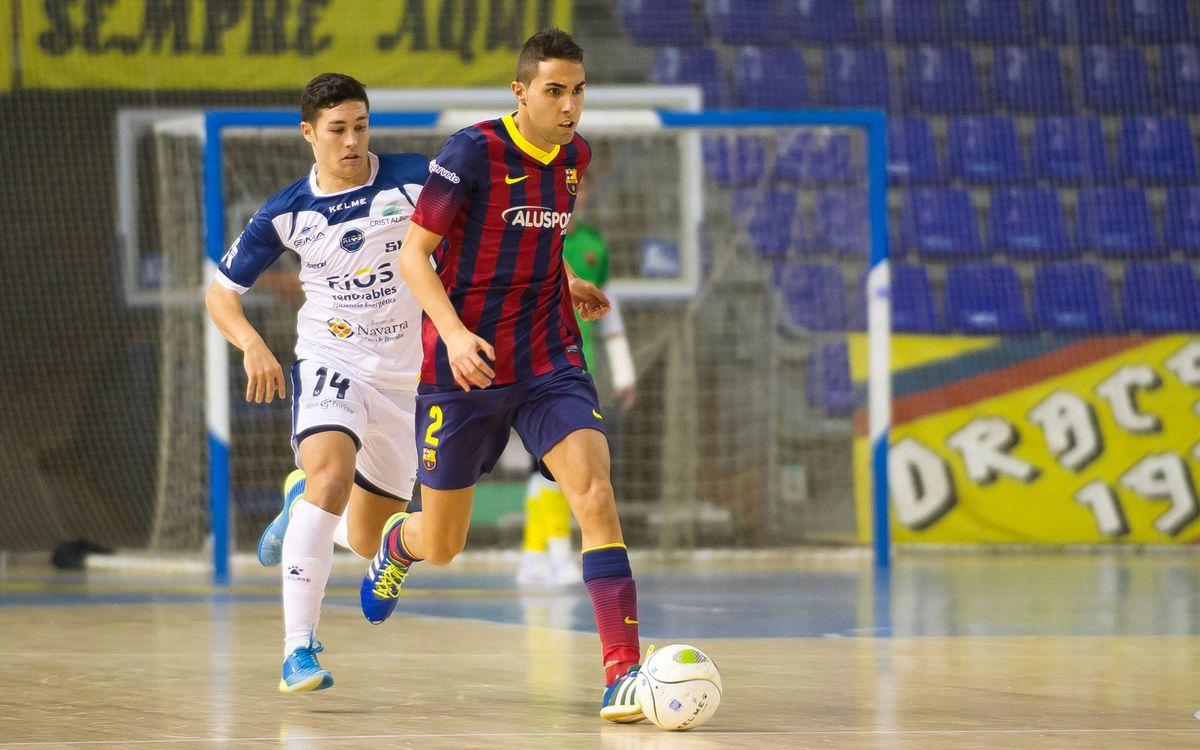 El Barça Alusport fa un entrenament sota mínims