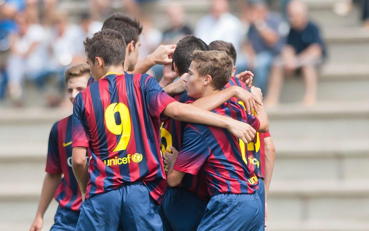 Juvenil B – AE Prat: Tres punts per reconquerir la Lliga (2-1)