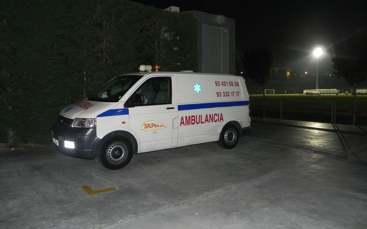 Els serveis mèdics del Club, sempre a punt