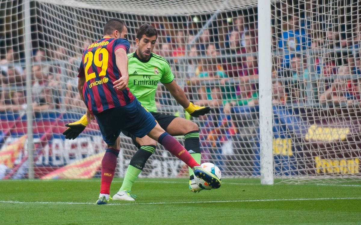 Sandro es va lesionar davant l'Eibar