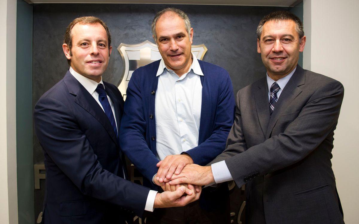 FC Barcelona extend contract with Andoni Zubizarreta to 2016