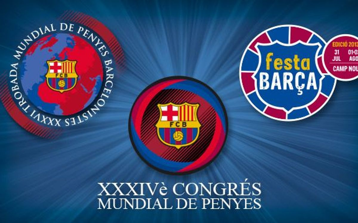 Supporters Clubs World Congress and Meeting – Festa Barça 2013