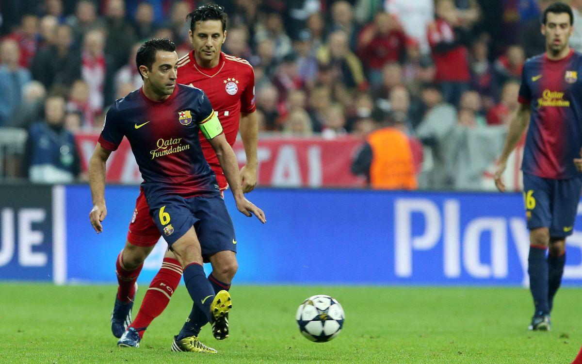 Barça rule Champions League possession