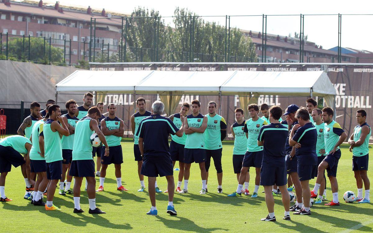 18 convoqués pour le premier match de Liga