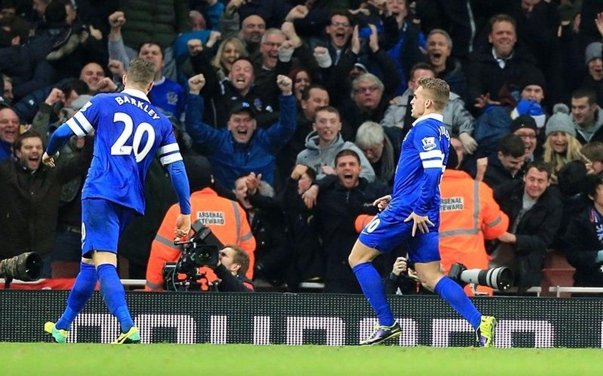 Gerard Deulofeu shines for Everton