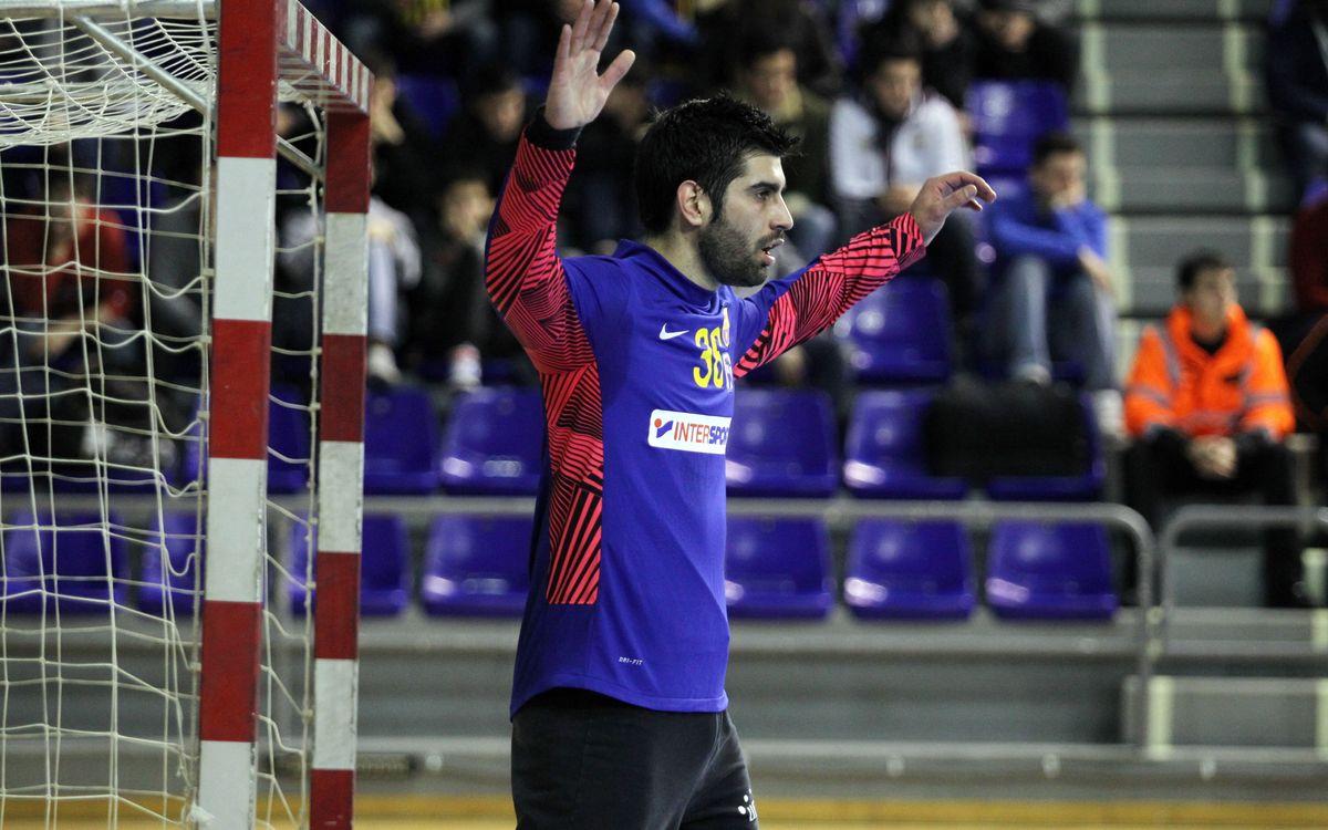 Rodrigo Corrales i Carlos Molina, cedits al BM Osca