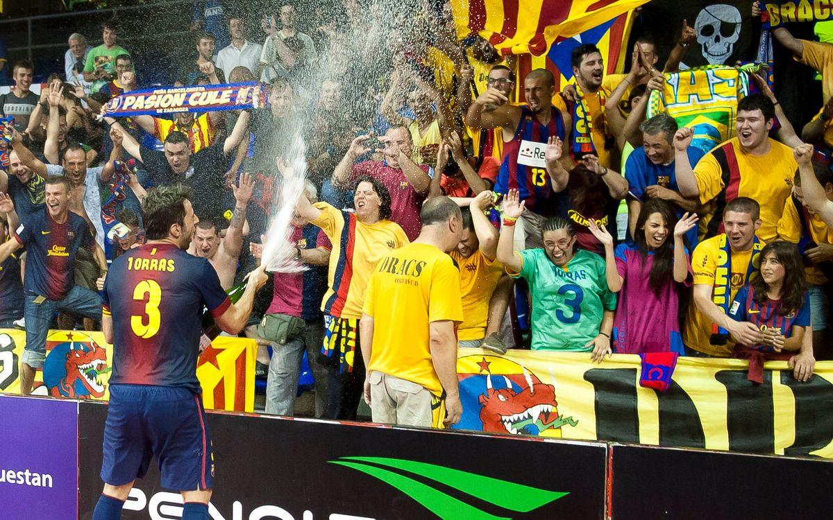 El Barça Alusport s'abona als triplets