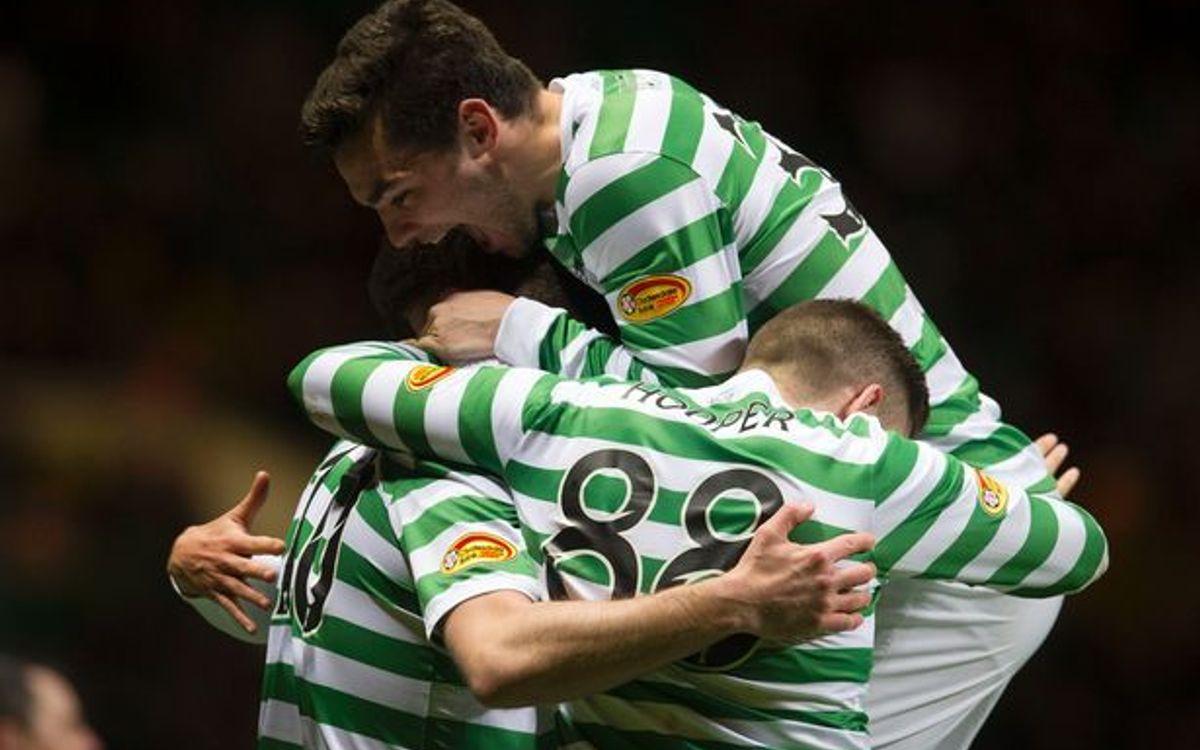 Golejada del Celtic contra el Kilmarnock abans de rebre el Barça (2-5)