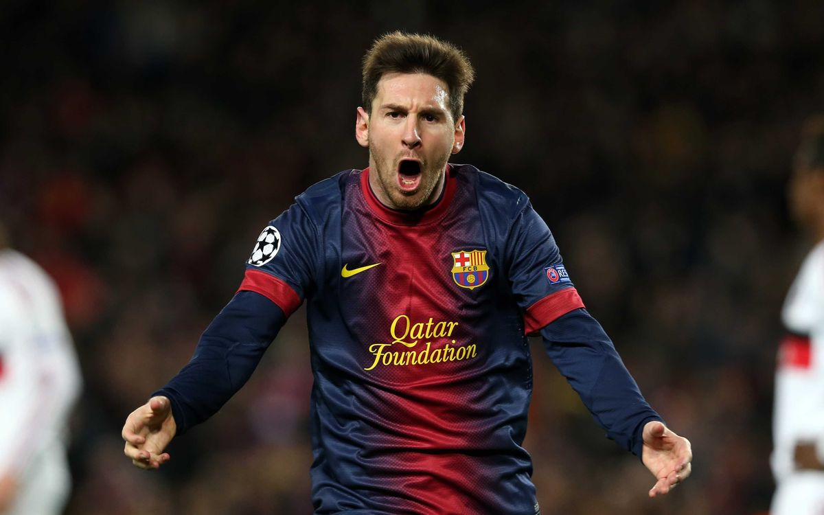 Leo Messi nominated for UEFA player of the year 2012/13