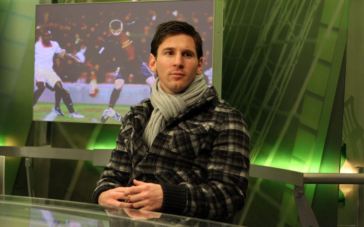 """Leo Messi, al diari 'Olé': """"La lesió va ser casual"""""""