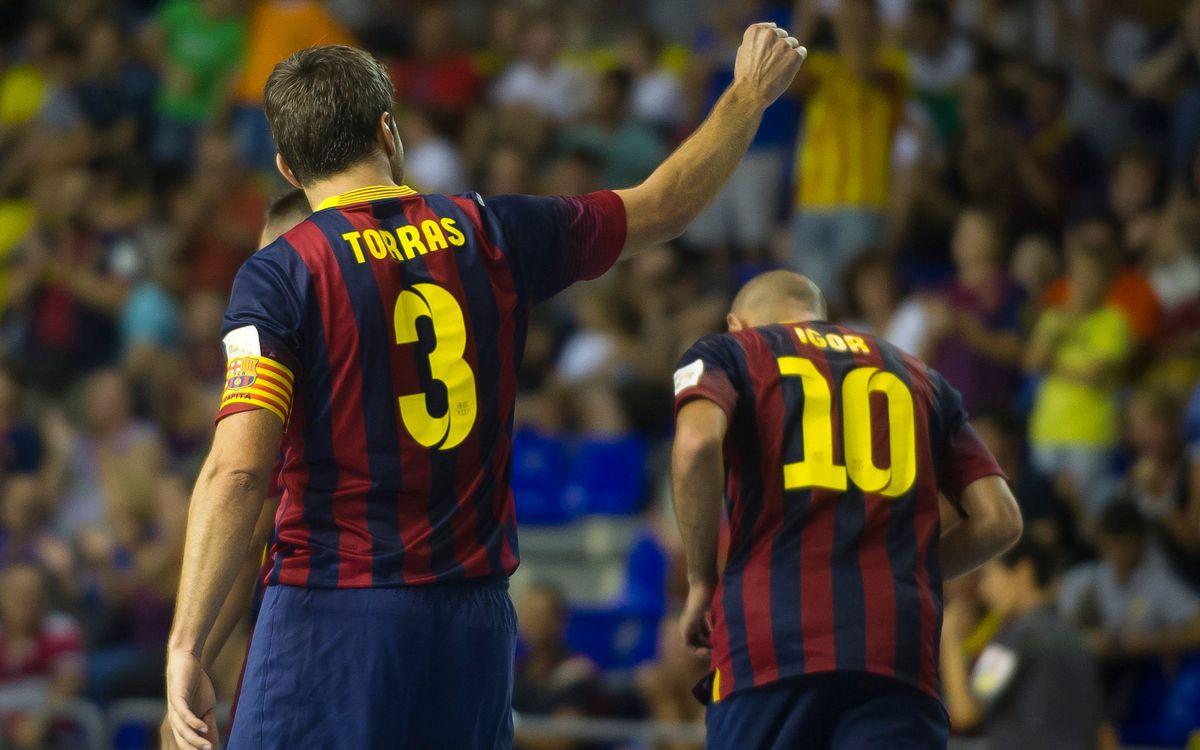 El Barça Alusport vol tancar la primera volta amb una victòria