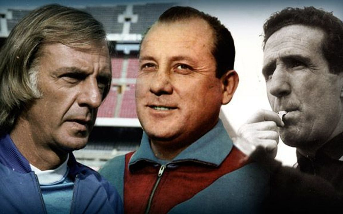 Martino is the fourth Argentinian coach in Barça history