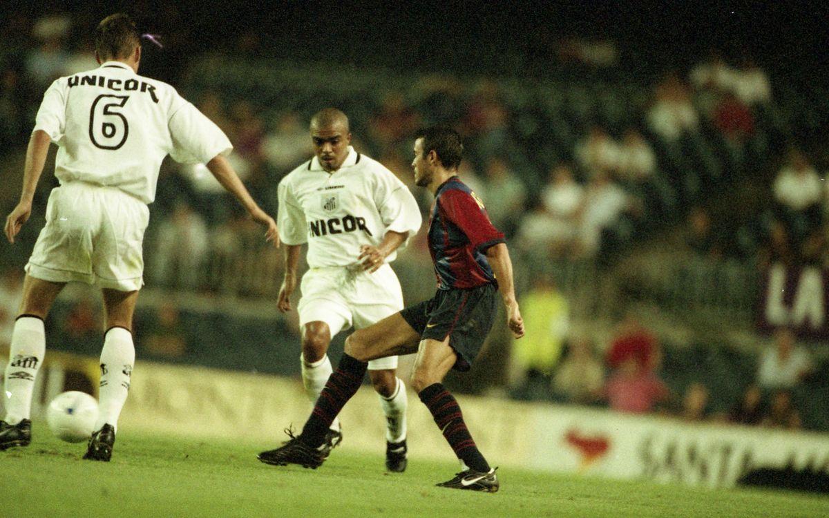 El Santos jugarà per segona vegada a la història un partit del Gamper