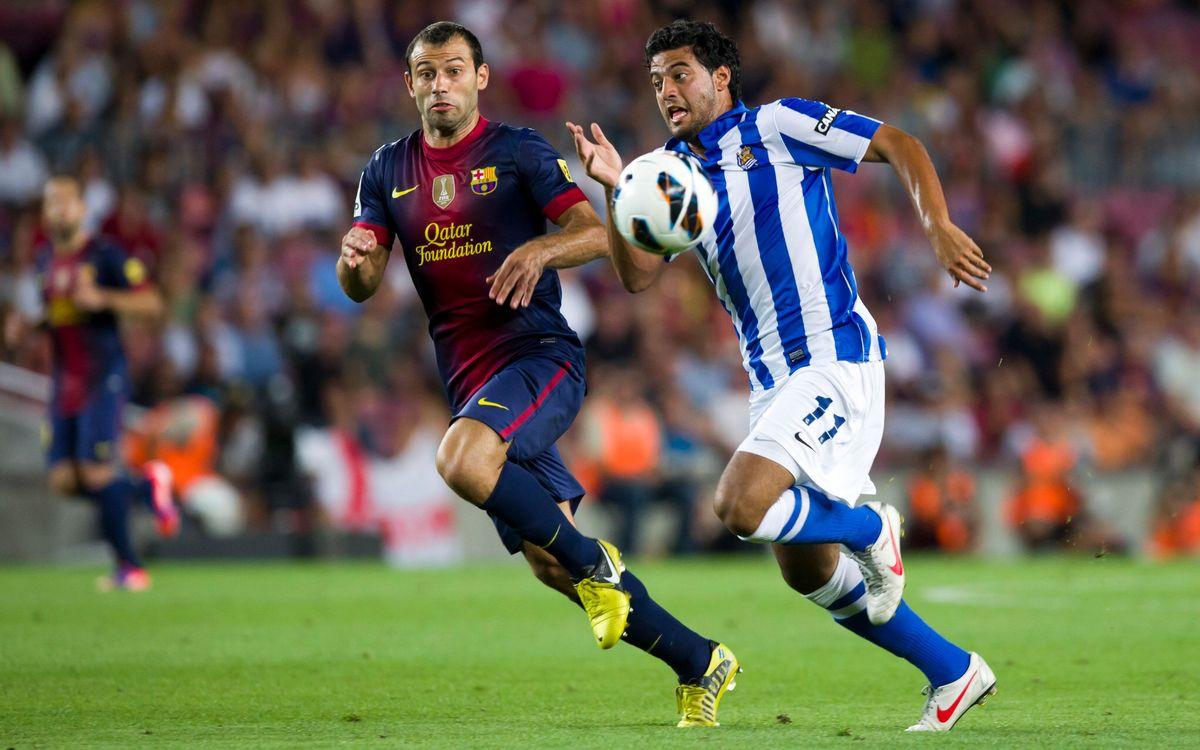 FC Barcelona – Reial Societat: Etiqueta Champions