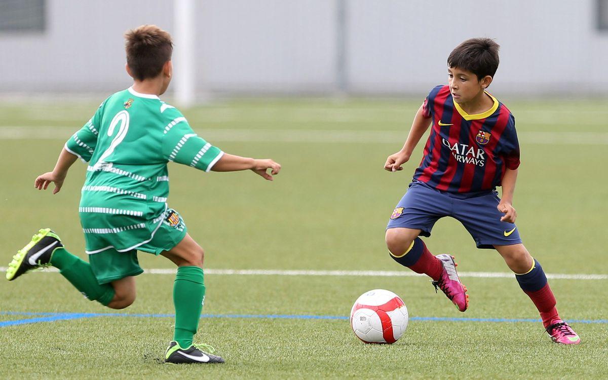Jornada de gols i triomfs per als equips formatius