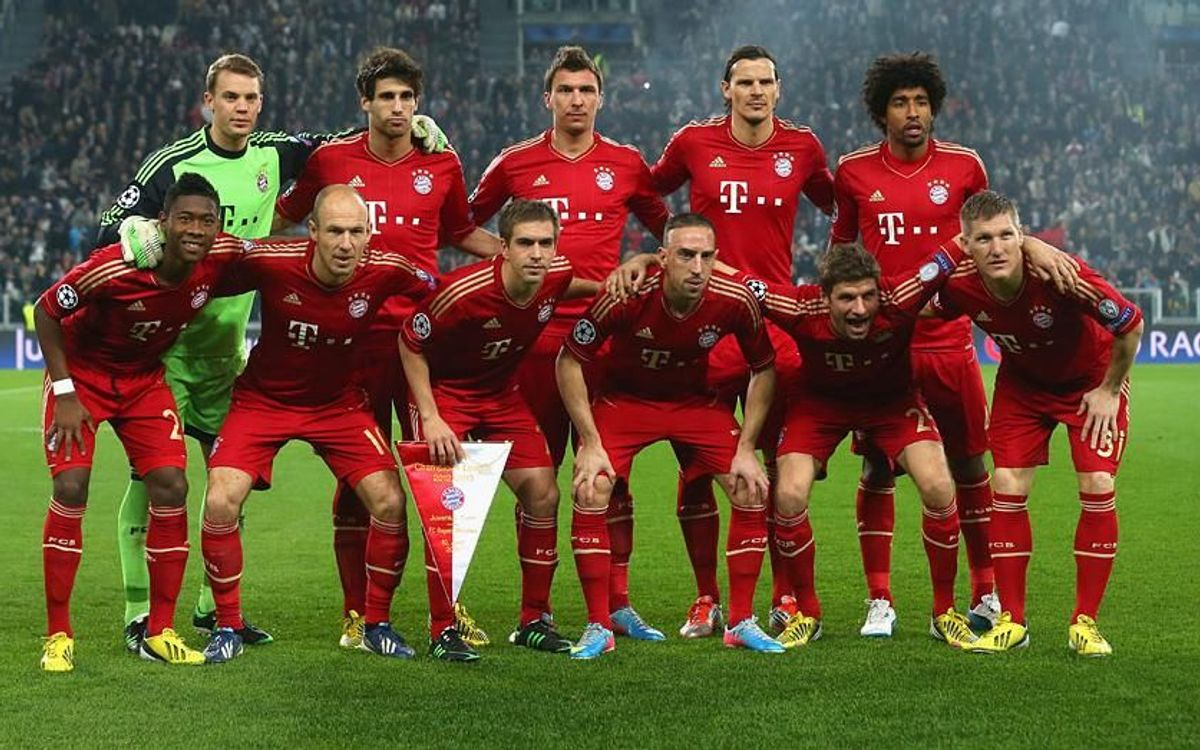 Bayern Munchen, as reliable as ever