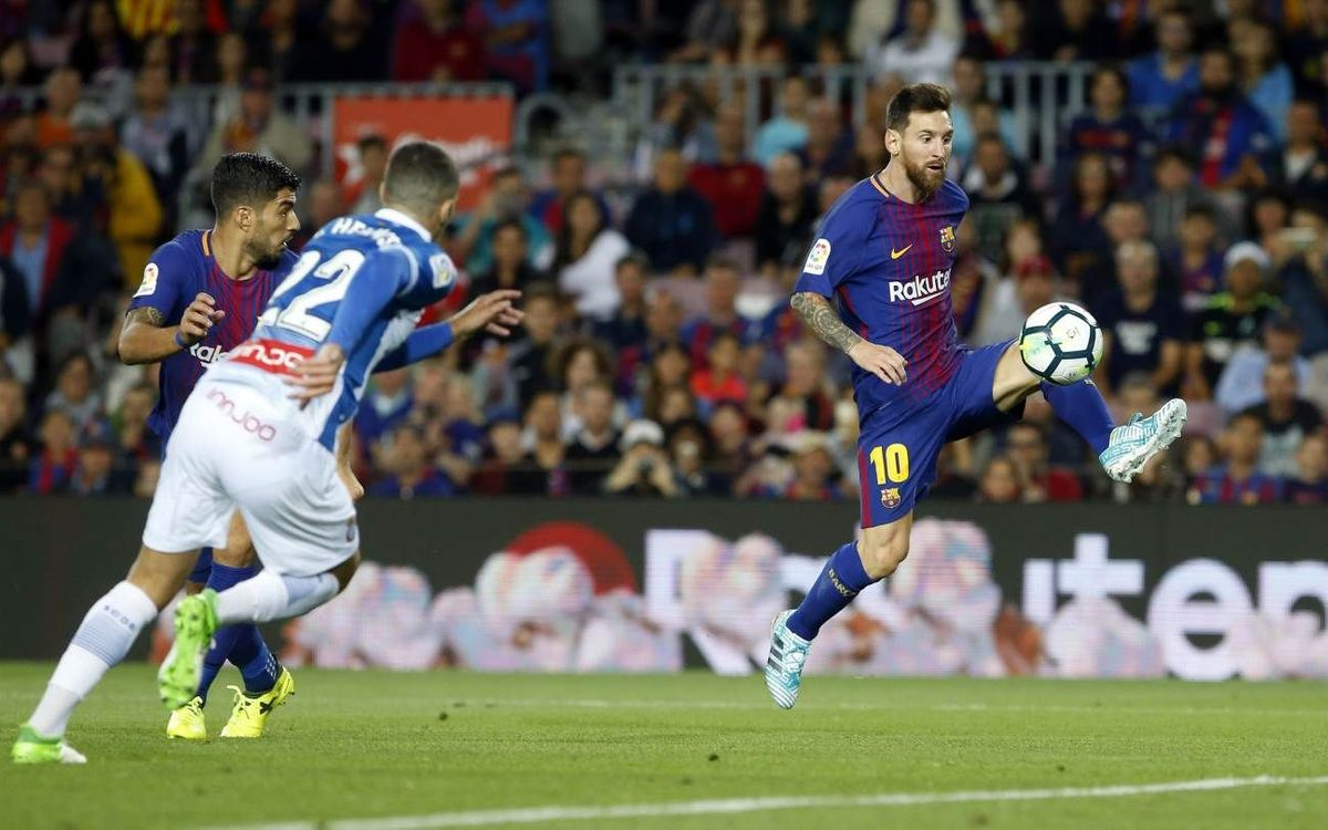 Les derbies Barça-Espanyol en Liga, synonymes de buts