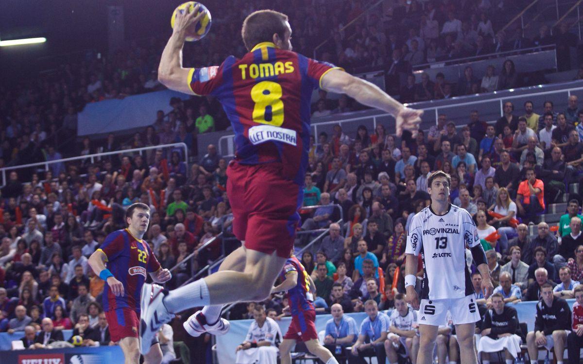Els rivals del Barça Intersport a semifinals de Champions d'handbol