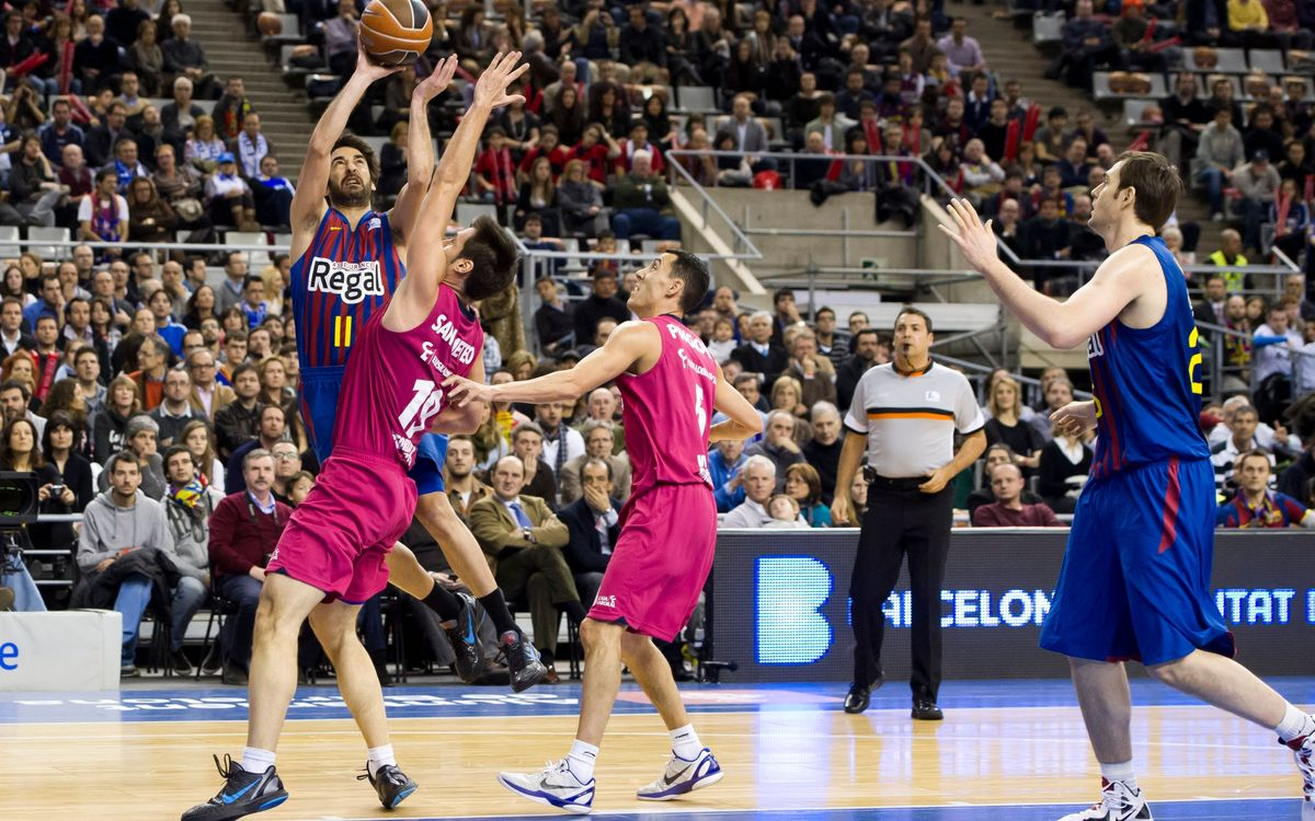 History just on Barça's side against Caja Laboral