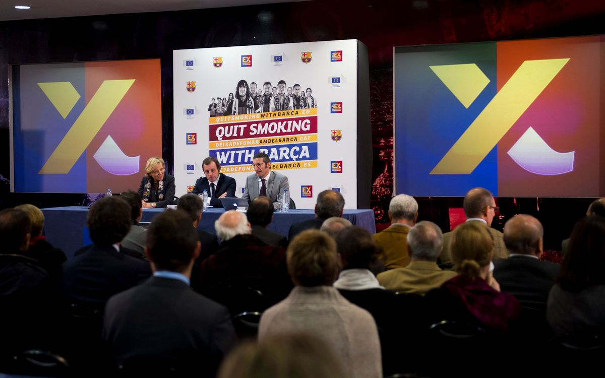 Awards for 'Quit Smoking with Barça'