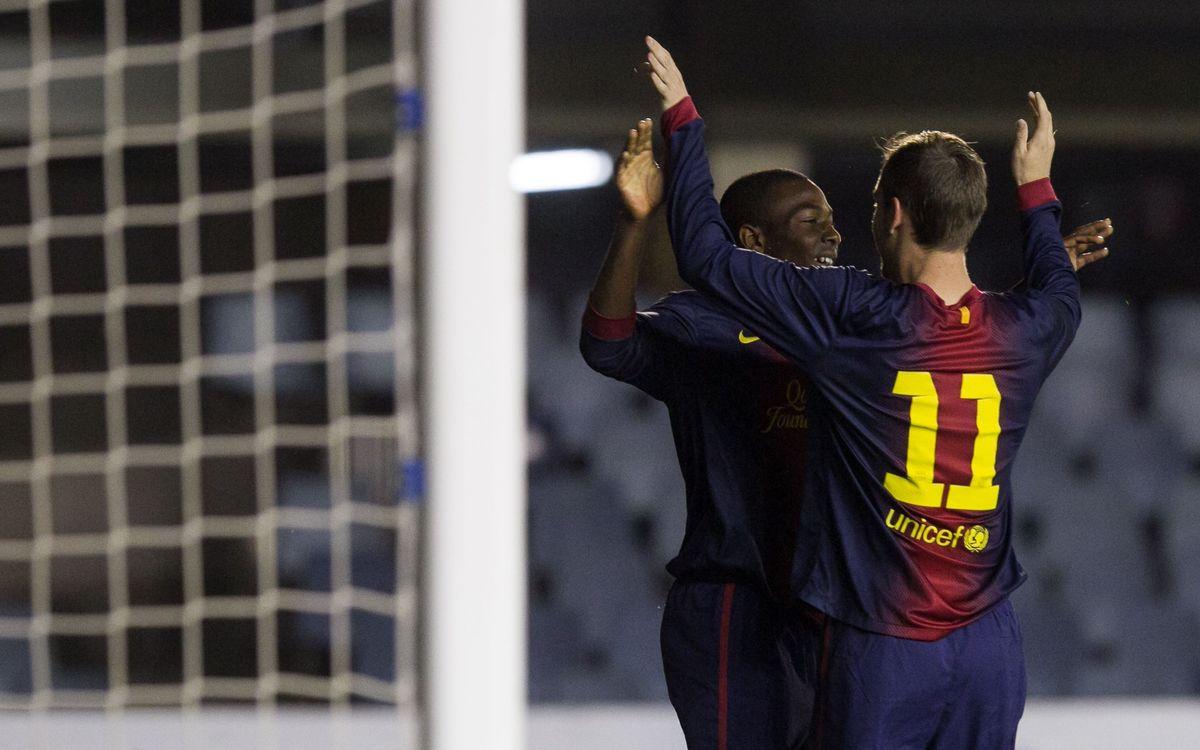 FC Barcelona - Wolfsburg: Endavant a la NextGen Series (3-1)