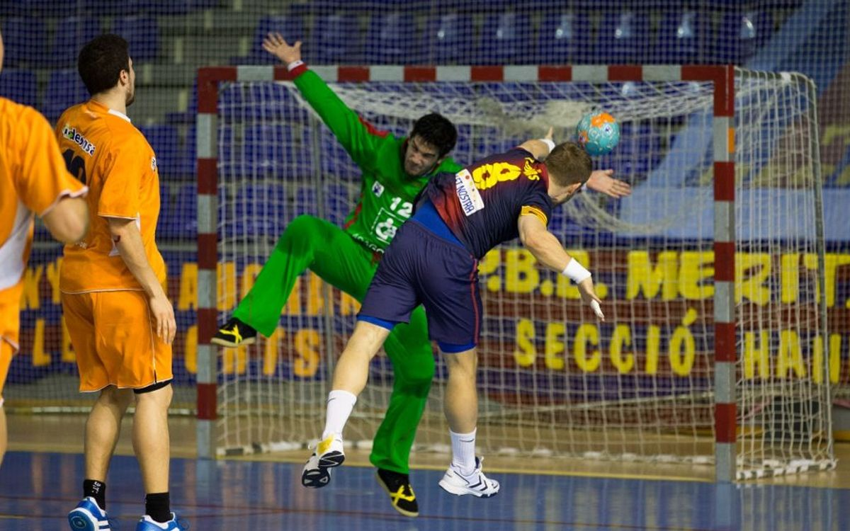 FCB Intersport - BM Aragón: The Blaugrana head to the final four (36-29)