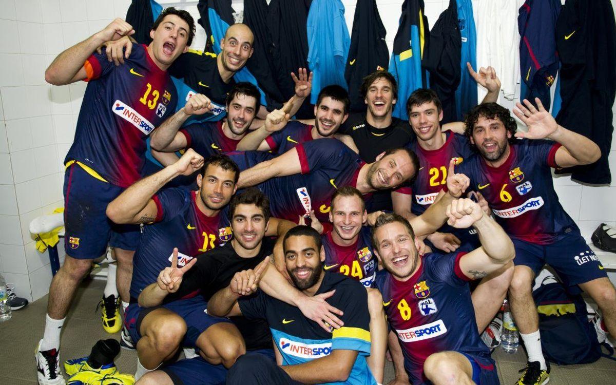 Le handball champion d'Espagne