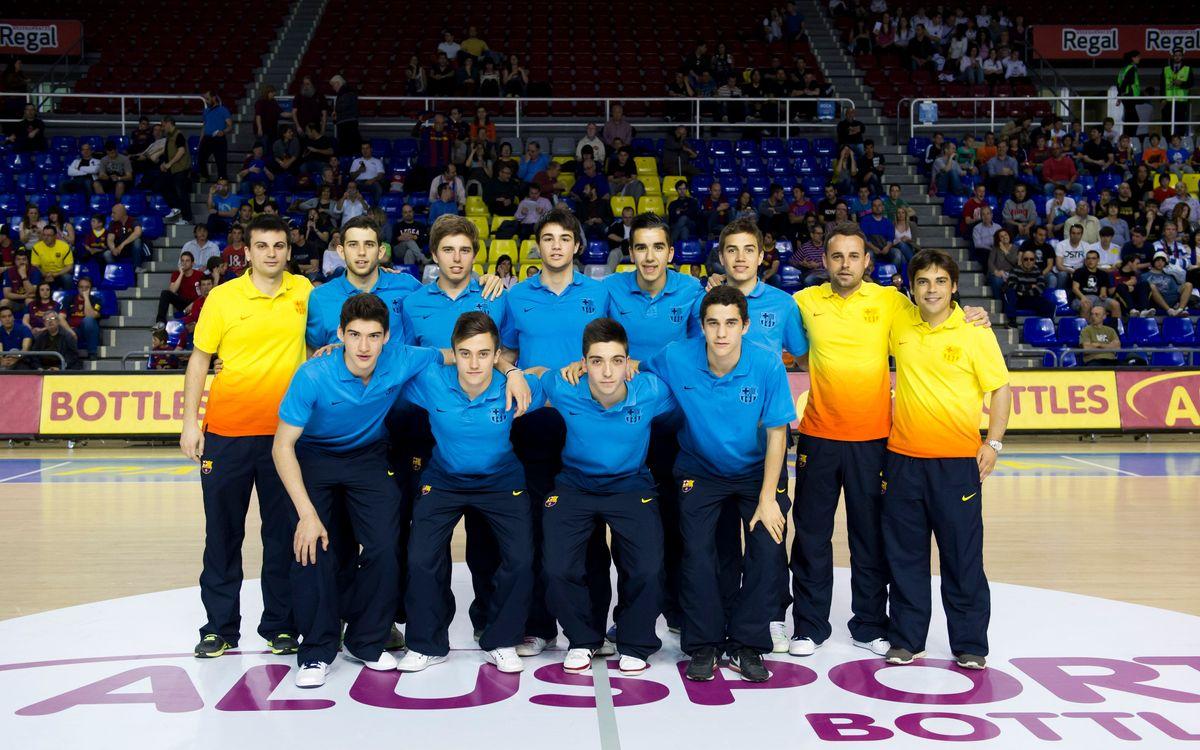 L'equip Juvenil del FC Barcelona es proclama campió de Lliga a falta de cinc jornades