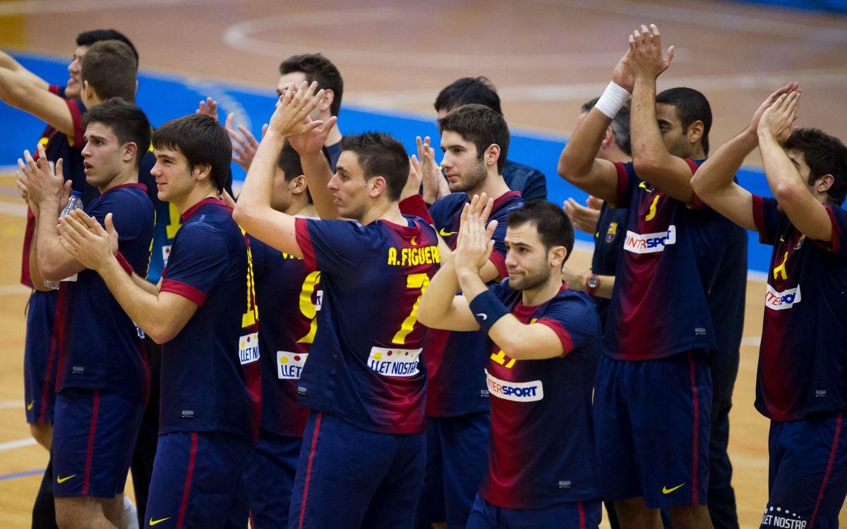 Victòria que consolida el liderat del FC Barcelona Intersport B