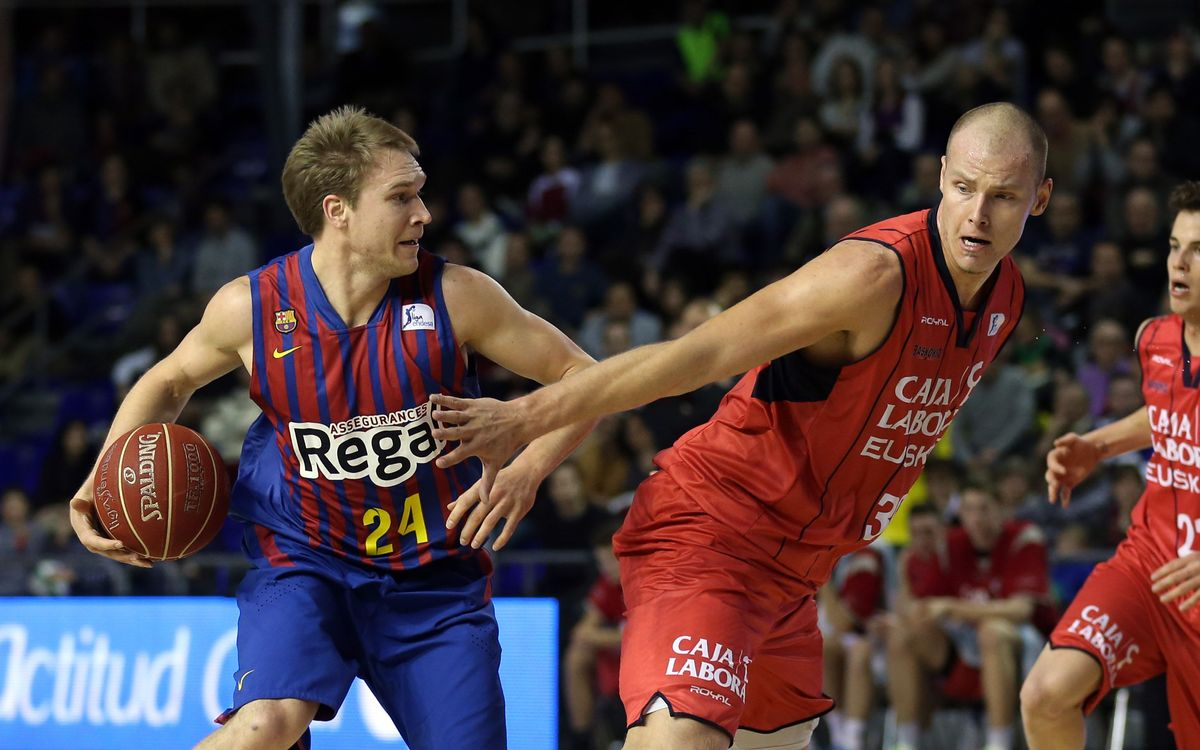FCB Regal v Caja Laboral: Basques put an end to winning run (67-69)