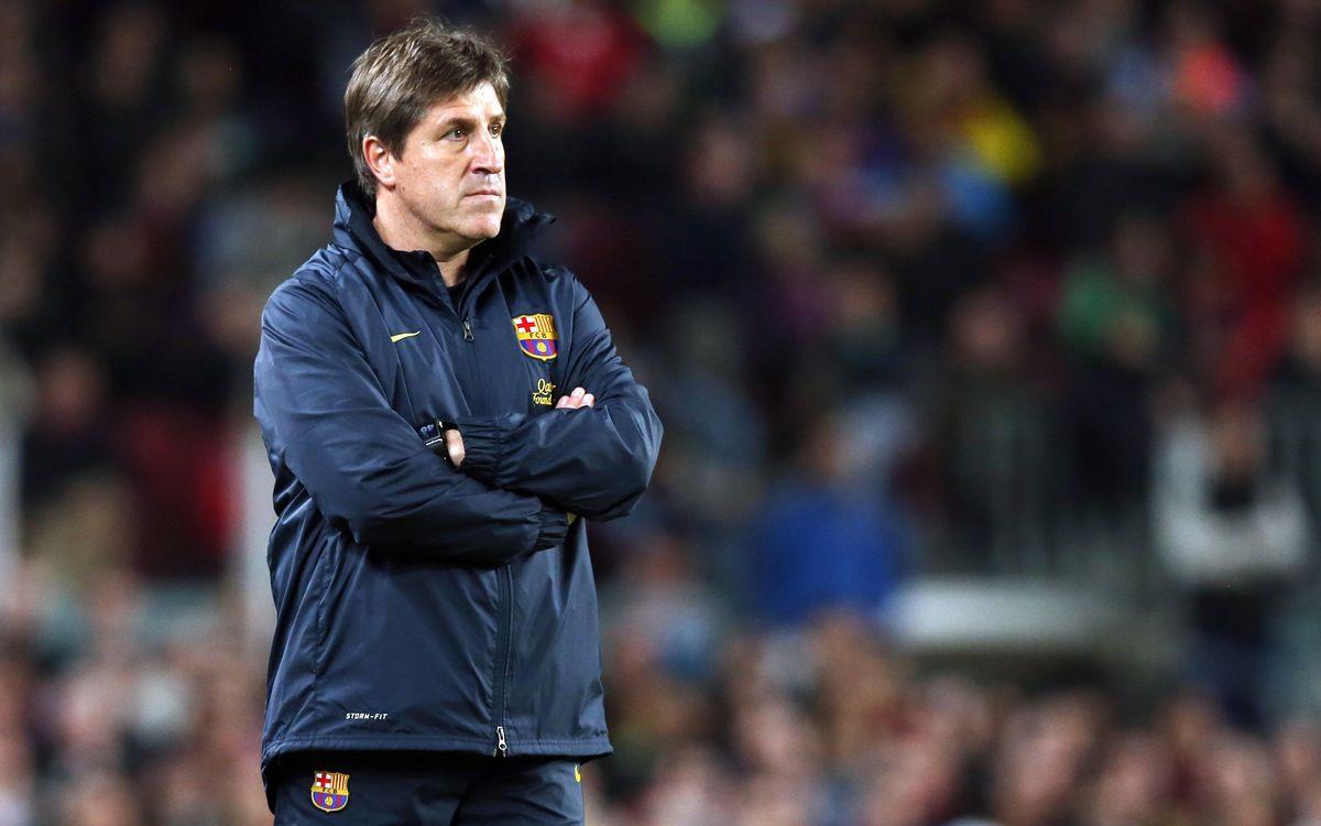 """Jordi Roura: """"Tranquille avec Messi"""""""