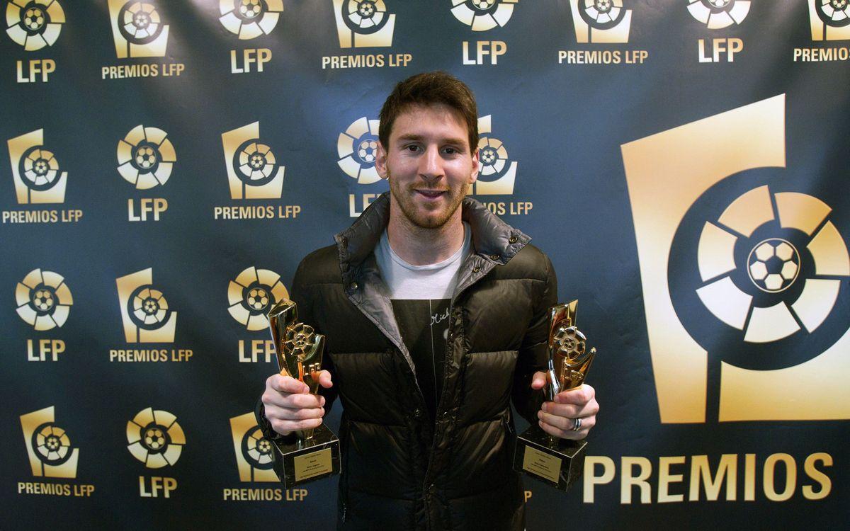 La LFP récompense quatre joueurs du Barça