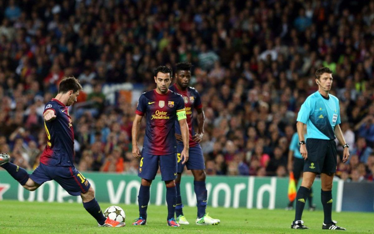 FC Barcelona-Celta: Best ever start in sight
