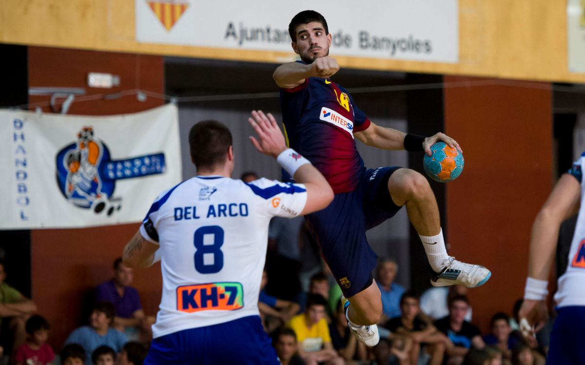 Els derbis del Barça d'handbol a Granollers
