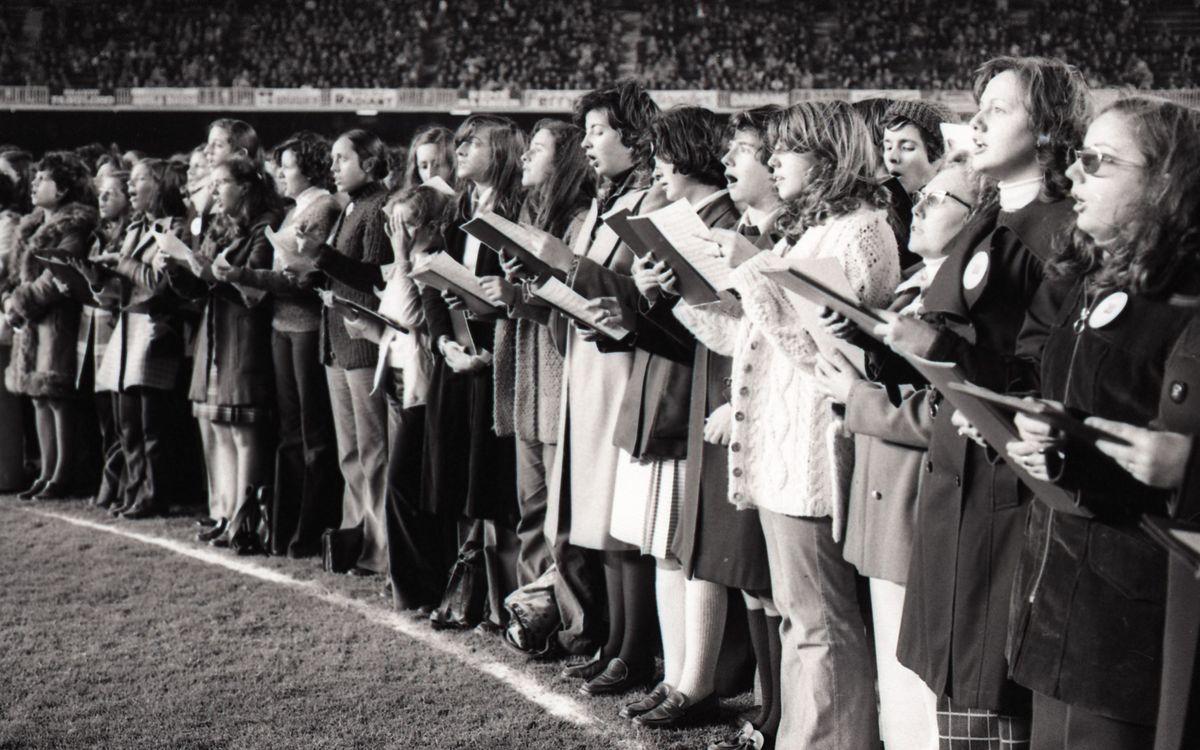 El FC Barcelona homenatjarà els autors del 'Cant del Barça'